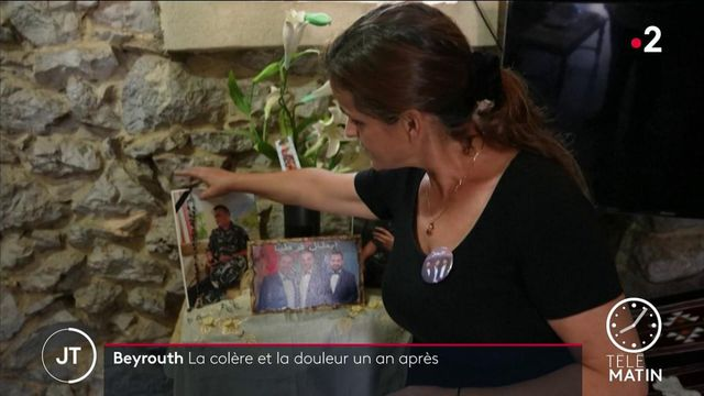 Liban : un an après l'explosion du port de Beyrouth, la douleur des familles est encore vive