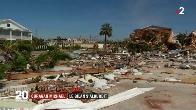 Ouragan Michael : le bilan s'alourdit