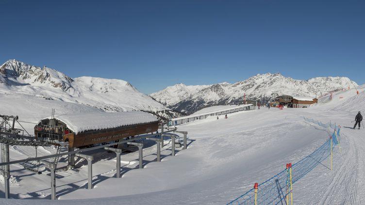 La station de ski de Valfréjus (Savoie). (GILLES LANSARD / ONLY FRANCE)