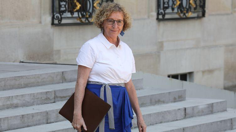 La ministre du Travail, Muriel Pénicaud, le 25 juillet 2018 à Paris. (LUDOVIC MARIN / AFP)