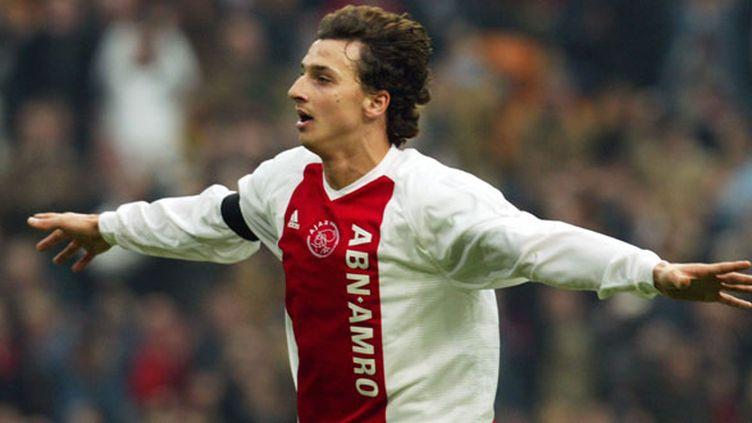 Zlatan Ibrahimovic sous le maillot de l'Ajax Amsterdam