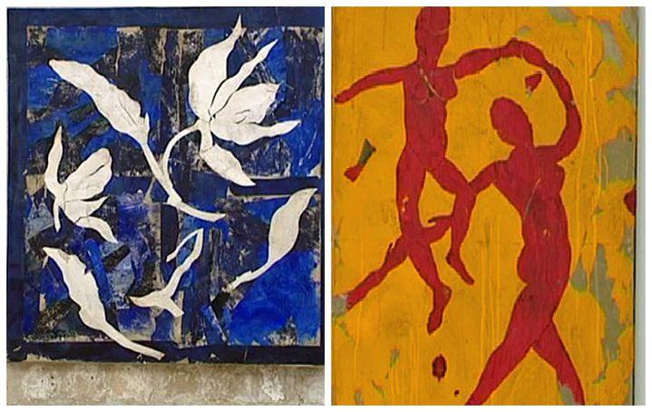 La passion pour Matisse transparaît dans l'oeuvre de Brisson  (Culturebox)