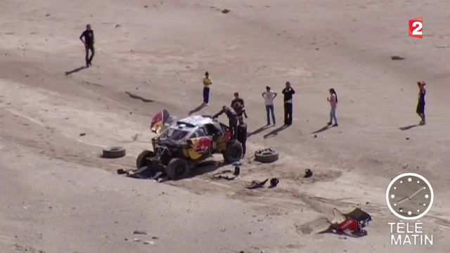 Dakar : accidenté, Sébastien Loeb dit adieu à la victoire