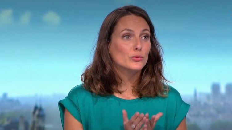 Justine Weyl, le 11 août 2020. (FRANCE 2)