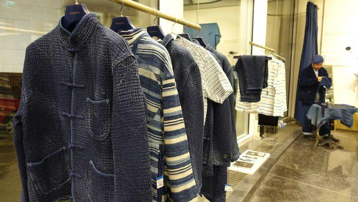 Les vestes Porter Classic présentées à Paris, janvier 2017  (Corinne Jeammet)