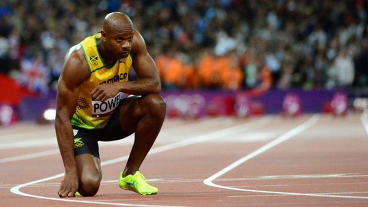Le sprinteur jamaïquain Asafa Powell