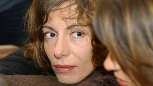 Kristina Rady lors du procès de Bertrand Cantat en mars 2004 à Vilnius  (ERIC FEFERBERG / AFP)