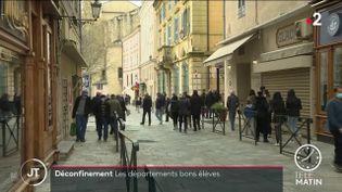 Dans les rues de Digne (Alpes-de-Haute-Provence). (France 2)