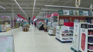 Couvre-feu : les supermarchés modifient leur fonctionnement (France 2)