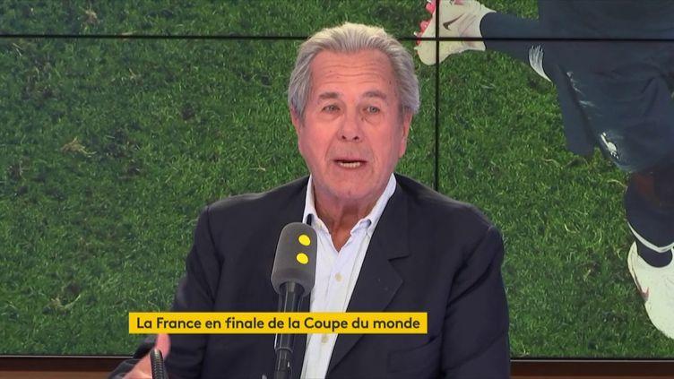 Jean-Louis Debré, ancien président du Conseil constitutionnel, invité de franceinfo le 11 juillet 2018. (RADIO FRANCE / FRANCE INFO)