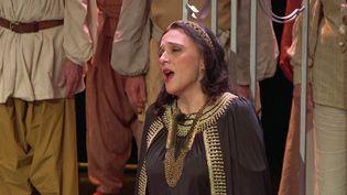 """La mezzo-sopranoAnne Maugard, meten scène l'opéra """"Didon etÉnée"""" avec le choeur départemental des Deux-Sèvres (France 3 Nouvelle-Aquitaine)"""
