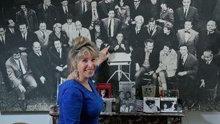 Françoise Canetti, fille de Jacques Canetti, le grand producteur musical de Boris Vian. (THOMAS PADILLA / MAXPPP)