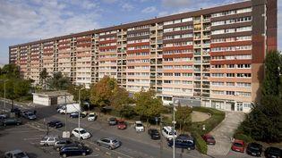 Un immeuble HLM de Neuilly-sur-Marne (Seine-Saint-Denis), le 26 avril 2012. (G.D.MORAND / ONLY FRANCE)