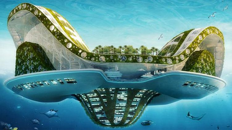 Lilypad, le projet de cité nénuphar de Vincent Callebaut  (Vincent Callebaut Architectures)