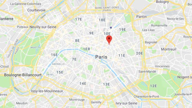 Place de la République, à Paris. (GOOGLE MAPS)