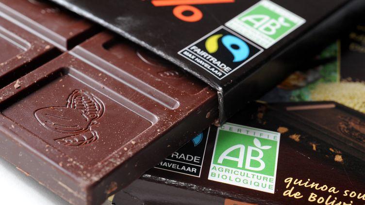 En 2018, le chocolat équitable représentait moins d'un demi-pour cent du marché. Un an plus tard, c'est plus du double. (DOMINIQUE ANDRE / BIM)