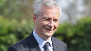 Bruno Le Maire, le ministre de l'Économie, le 17 mai 2018 àBézéril (Gers). (MAXPPP)