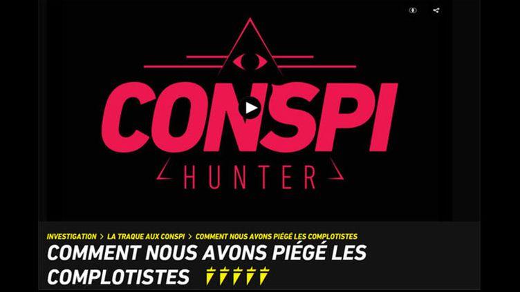 le site de Thoma Huchon (Conspi hunter logo spicee)