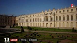 Le retour des jardins à la française à Chambord (FRANCE 2)