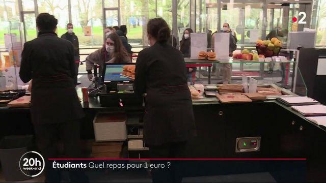 Nantes : des repas à 1 euro pour les étudiants à l'université