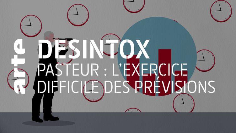 Désintox. Covid-19 : les prévisions pas si inquiétantes de l'Institut Pasteur (ARTE/2P2L)