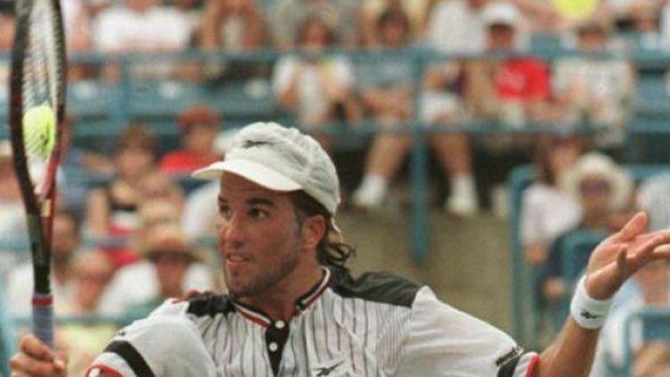 Patrick Rafter, auteur d'un doublé à Flushing Meadows en 1997 et 1998