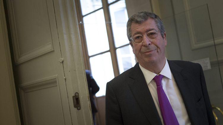 Patrick Balkany, député-maire de Levallois-Perret (Hauts-de-Seine), à l'Assemblée nationale, le 21 janvier 2015. (MAXPPP)