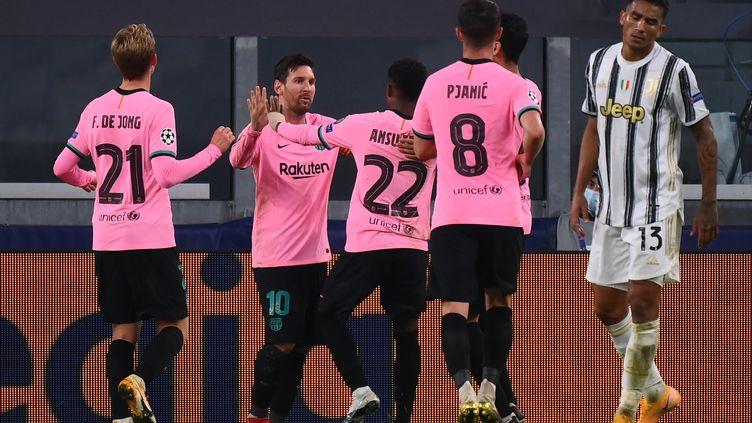 Lionel Messi a inscrit le deuxième but du Barça (MARCO BERTORELLO / AFP)