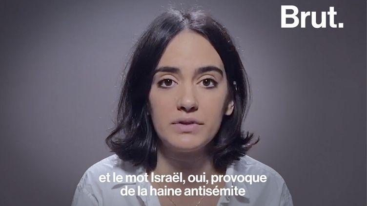 """VIDEO. """"Le simple mot """"Israël"""" suffit à provoquer un torrent de haine"""", fustige Noémie Madar (BRUT)"""