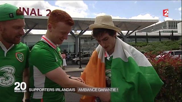 Euro 2016 : les supporters irlandais sont prêts