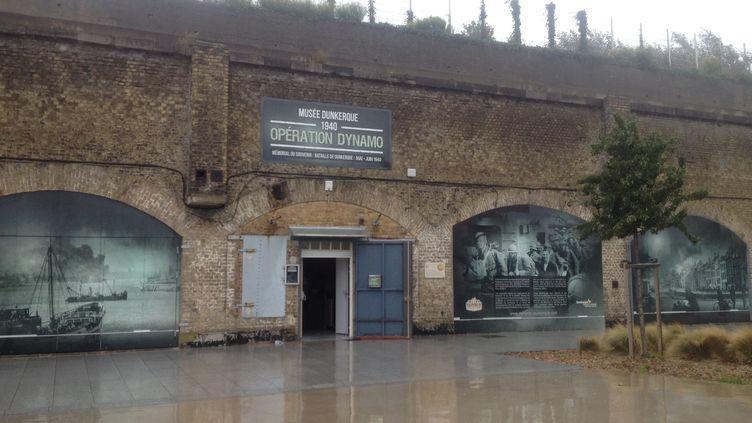 """Le musée Dunkerque 1940 a profité de la sortie du film """"Dunkerque"""" de Christopher Nolan pour faire peau neuve. Ici en août 2017. (LAURINE BENJEBRIA / FRANCEINFO)"""