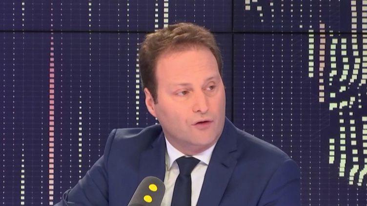 Sylvain Maillard, député LREM de la 1ere circonscription de Paris, invité de franceinfo. (FRANCEINFO / RADIOFRANCE)
