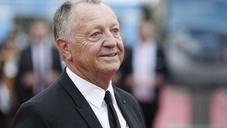 Jean-Michel Aulas, président de l'Olympique Lyonnais. (CHARLY TRIBALLEAU / AFP)
