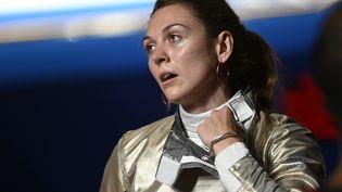 Manon Brunet ne verra pas la finale des Jeux olympiques de Tokyo, le 26 juillet 2021. (HERVIO JEAN-MARIE / KMSP / AFP)