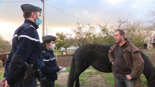 16 gendarmes réservistes ont intégré cette brigade un peu spéciale. (FRANCE 3)