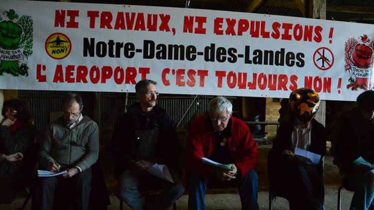 (Les opposants au projet vont faire appel © MAXPPP)