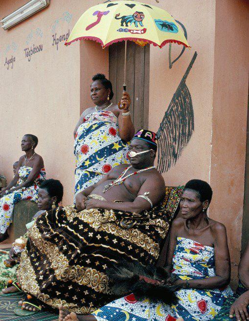 Le roi d'Abomey Agoli Agbo le 26 juin 2015 (AFP - JEAN-PIERRE DE MANN / ROBERT HARDING HERITAGE / ROBERTHARDING)