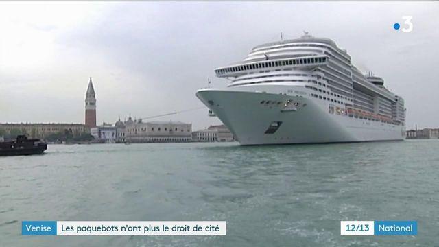 Venise : les paquebots finalement interdits d'accoster dans la cité des Doges