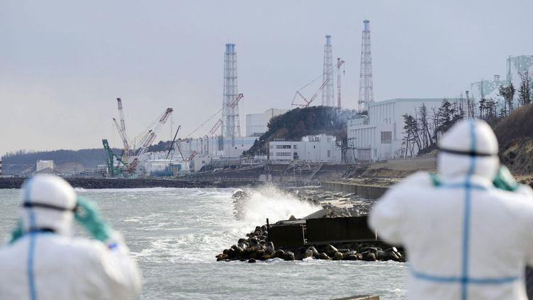 (La centrale nucléaire de Fukushima © Maxppp)
