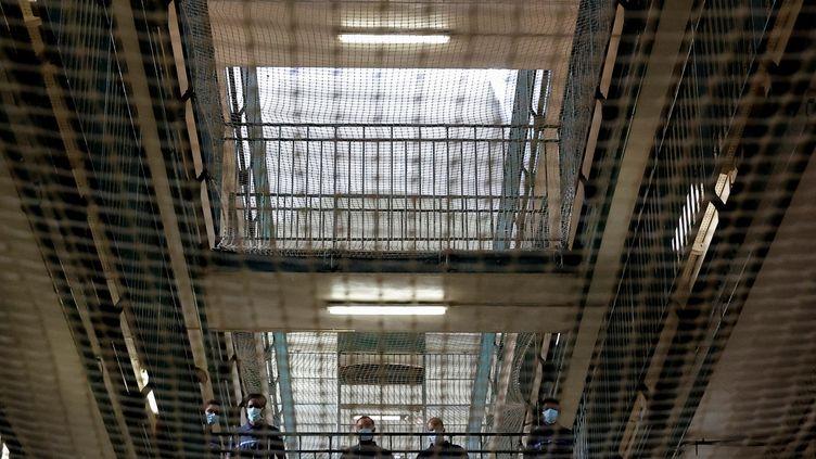 La prison de Fresnes (Val-de-Marne), en juillet 2020. (THOMAS COEX / AFP)