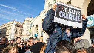 Manifestation pour la liberté d'expression à Marseille, le 11 janvier 2015  (Damien Lepretre/Sipa)