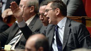Le député UMP de Lozere Pierre Morel-A-L'Huissier, le 18 février 2014 à l'Assemblée nationale à Paris. (ERIC FEFERBERG / AFP)