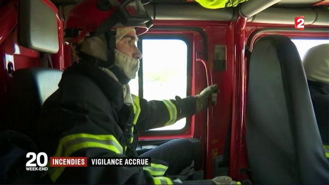 Incendies : la vigilance accrue des pompiers
