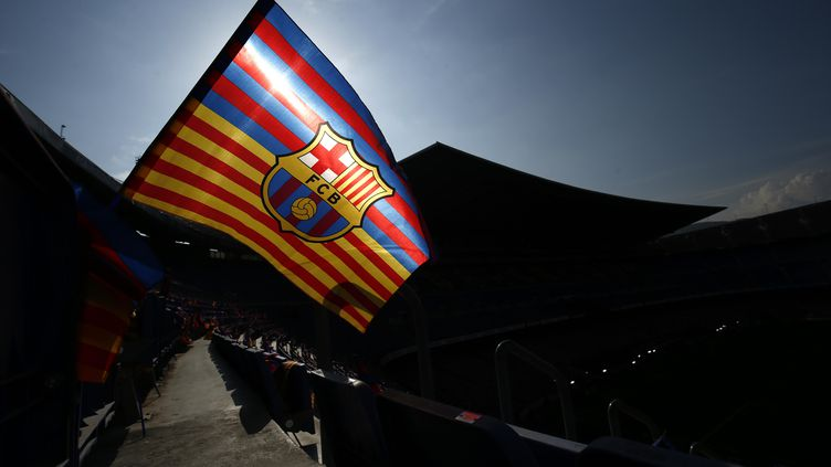 Le FC Barcelone (PAU BARRENA / AFP)