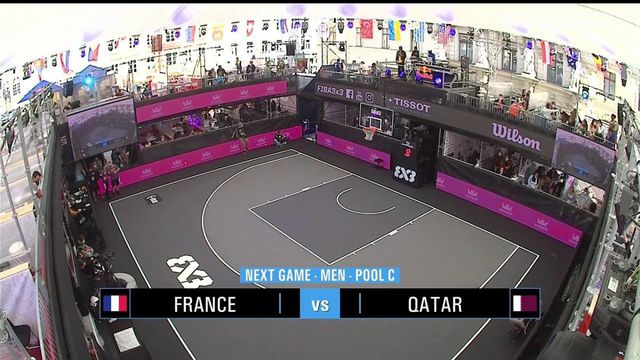 TQO Basket 3x3 (H) : les meilleurs moments de France vs Qatar