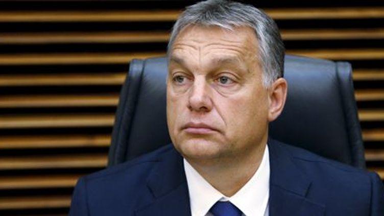 Viktor Orban, Premier ministre d'un pays (très) eurosceptique, la Hongrie. Photo prise au siège de la Commission européenne à Bruxelles le 25 octobre 2015. (Reuters - François Lenoir)