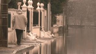 Val-de-Marne : la décrue ralentie par la neige et le froid (France 2)