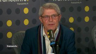 Bruno Gazeau, président de la Fédération nationale des associations d'usagers des transports (FNAUT), invité de franceinfo le 18 décembre 2019. (FRANCEINFO / RADIO FRANCE)