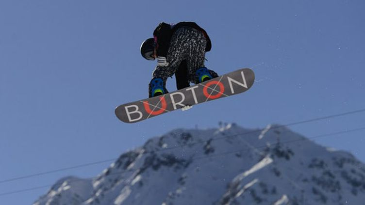 Le snowboard slopestyle, une discipline spectaculaire (JAVIER SORIANO / AFP)