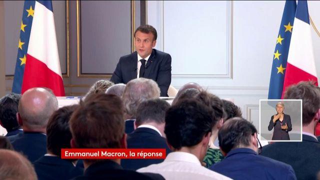 Emmanuel Macron annonce une baisse d'impôts pour les classes moyennes